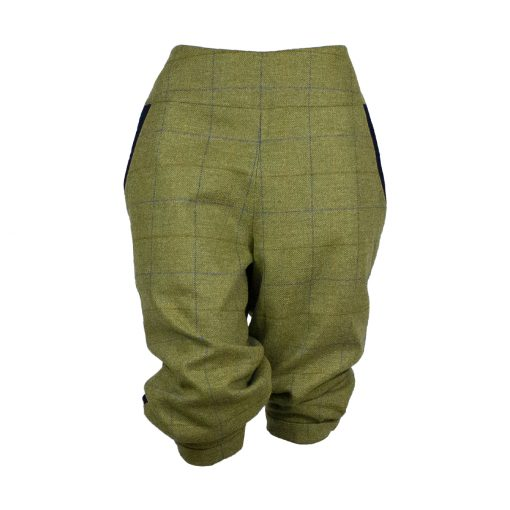 Dani breeks green/purple/navy front view