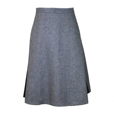 Amalia skirt black/white front view