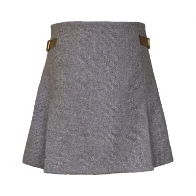 Jessica skirt taupe/tan front view